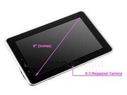 GADMEI T863-3D Android Tablet with 3D Display