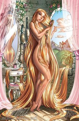 Disney Fairy Tale Fantasies 2012 Calendar by J. Scott Campbell
