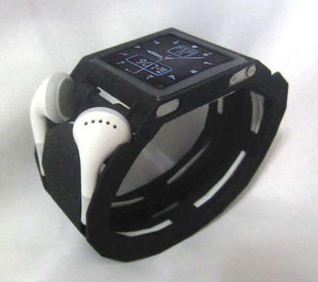 3D Printed iPod Nano Watch Band