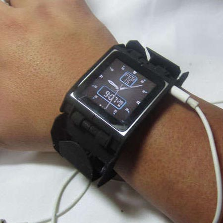 3D Printed iPod Nano Watch Band