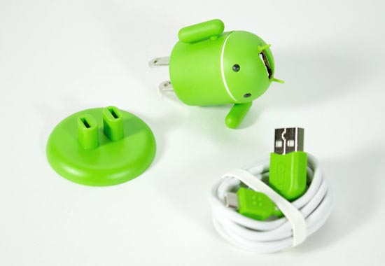 Andru Android Robot Styled Usb Phone Charger Gadgetsin