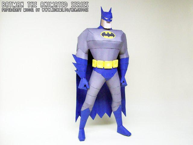 Batman Paper Craft