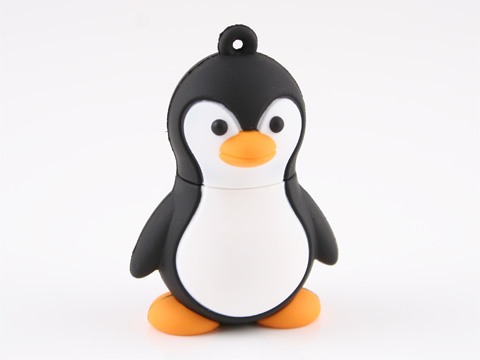 Cute Penguin USB Flash Drive
