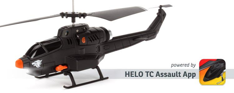 Griffin HELO TC Assault RC Helicopter Controlled by iOS and Android Devices