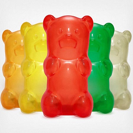 Gummy Bear Desk Lamp Gadgetsin