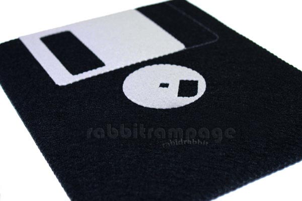 Handmade Floppy Disk Styled iPad Case