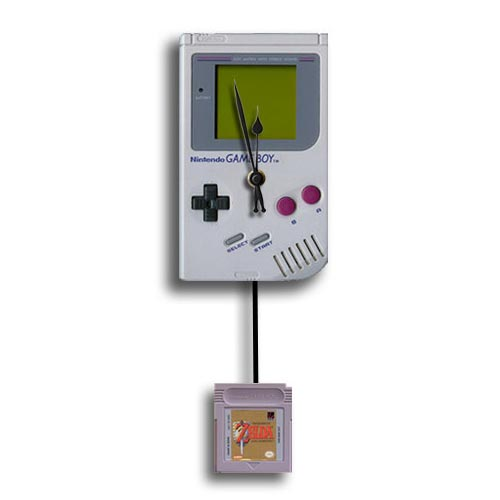 Handmade Retro Game Console Themed Wall Clocks