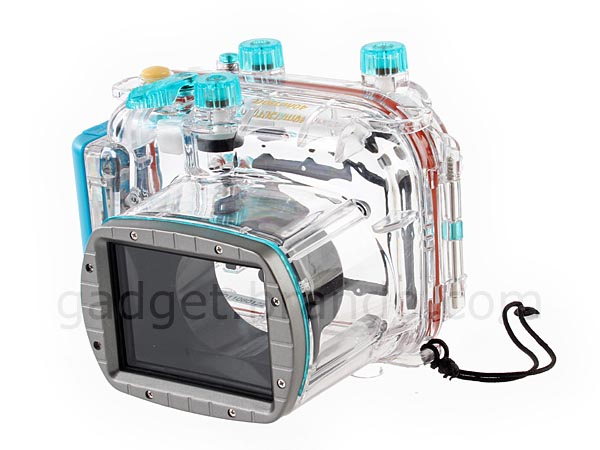 Hard, Clear and Waterproof Camera Case