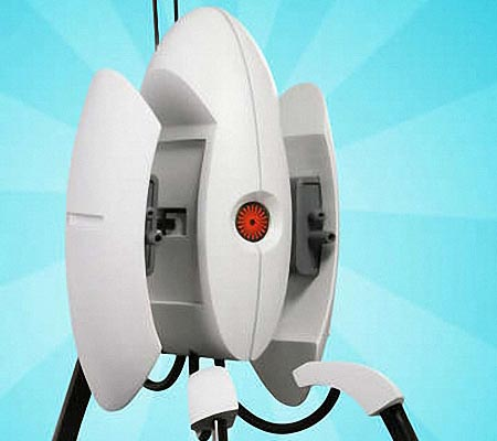 Homemade Life-Size Portal Turret Replica