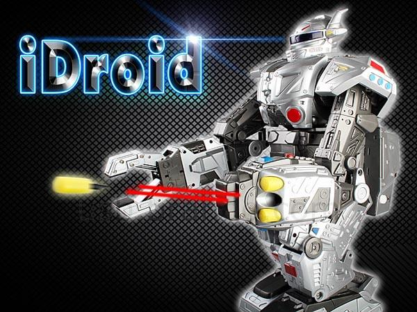 iDroid RC Robot Controlled by iOS and Android Devices