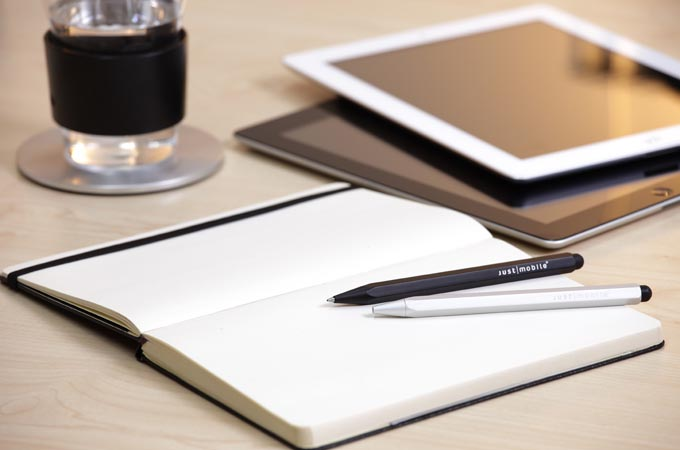 Just Mobile AluPen Pro Stylus with Refillable Ballpoint