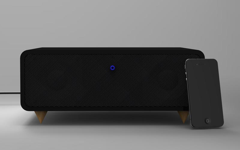 +KNOB Wireless Speaker System