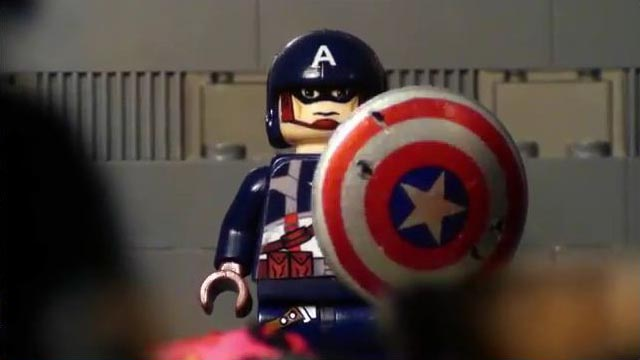 LEGO Captain America Stop Motion Video