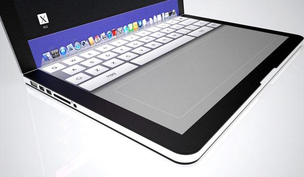 MacPad Pro Concept Notebook