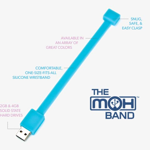 MoH Band USB Flash Drive Wristband