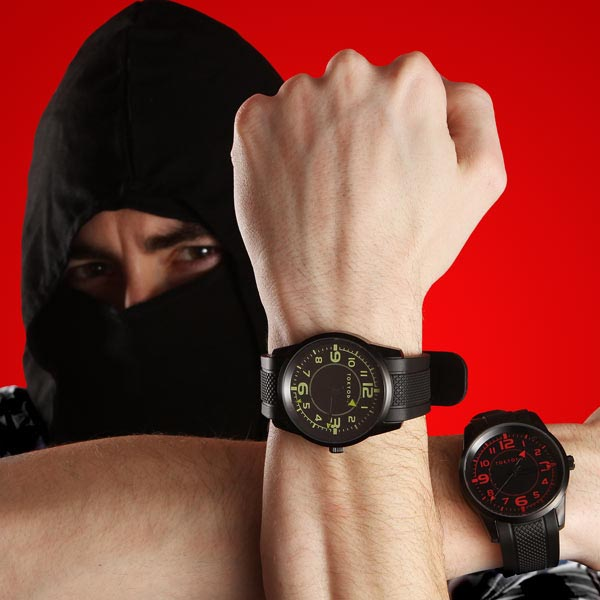 Nero Ninja Analog Watch