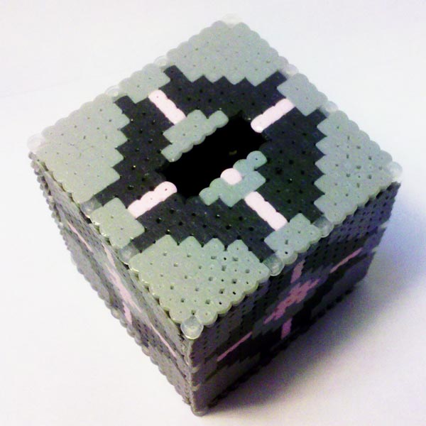 Portal 2 Weighted Companion Cube Pen Holder