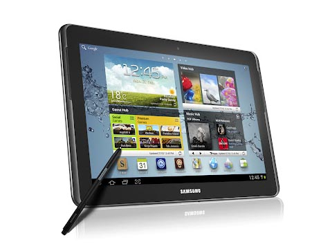 Samsung Galaxy Note 10.1 Android Tablet Announced