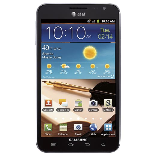 Samsung Galaxy Note Now Available for Preorder