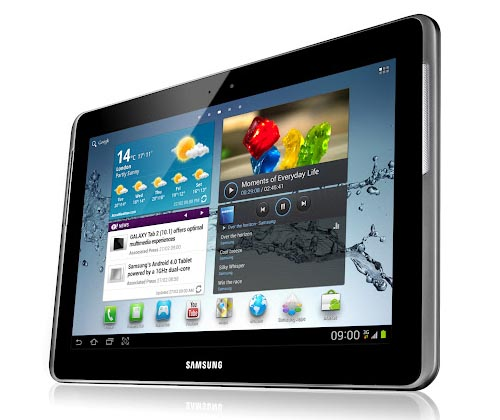 Android tablet . Now its latest 10.1″ Samsung Galaxy Tab 2