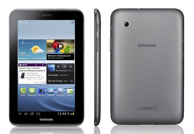 Samsung Galaxy Tab 2 Android Tablet Announced