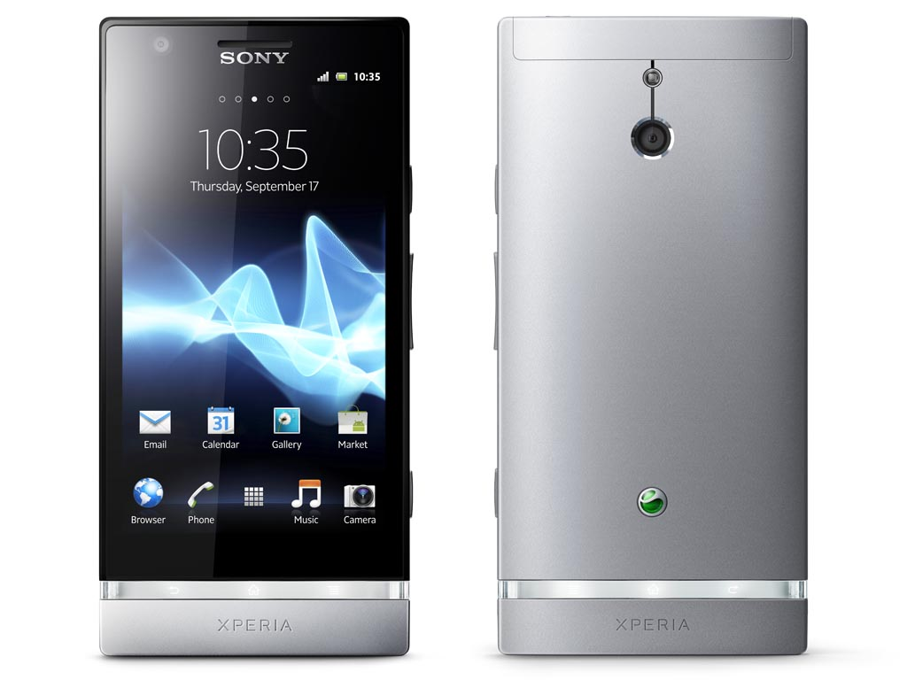 Camera Android Sony Phone sony xperia p android phones announced gadgetsin announced