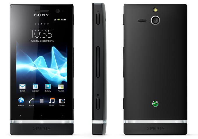 Sony Xperia U Android Phone Announced