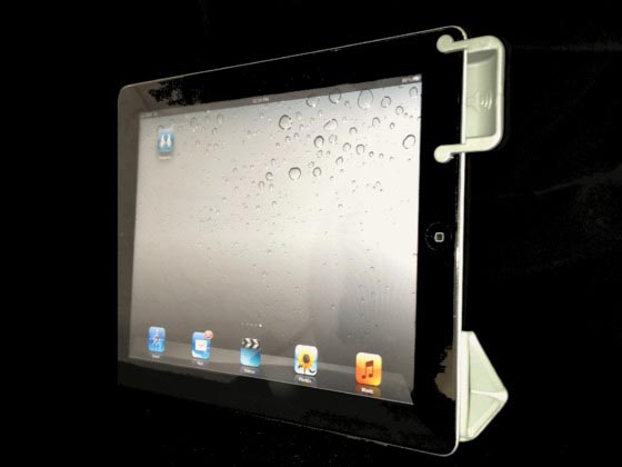 SoundBender Power-Free Magnetic Sound Enhancer for iPad 2