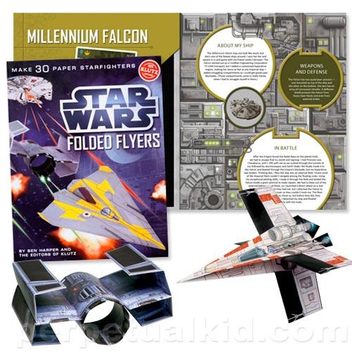 Star Wars Starfighter Paper Craft Kit