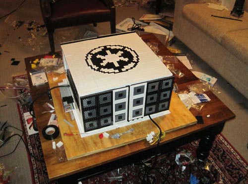 Star Wars Themed LEGO Computer Case