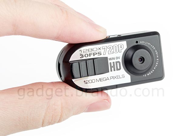 Thumb Spy Camera with Audio Recorder