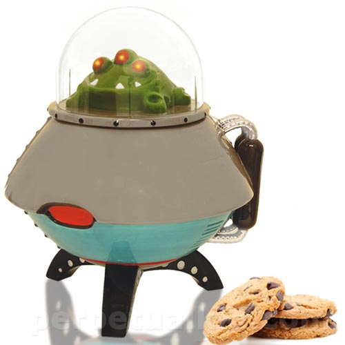 UFO Shaped Cookie Jar