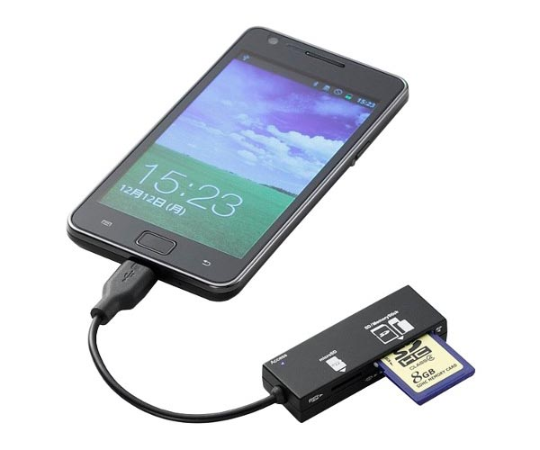 USB Card Reader for Android Phones and Tablets
