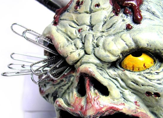 Zombie Head Pen Holder