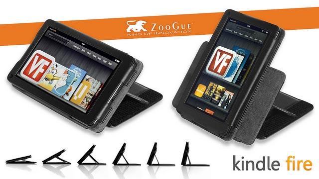 ZooGue Leather Kindle Fire Case