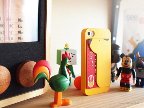 iPUP iPhone 4 Case with Card Holder