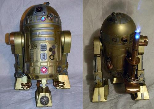 Steampunk Modded Interactive R2-D2