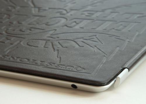 Handmade Leather iPad 2 Smart Cover