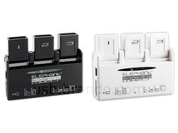 3-Port USB Hub with Card Reader