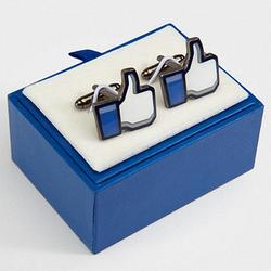 Facebook Thumbs Up Likeabe Cufflinks