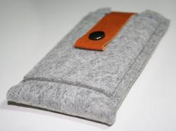 Handmade Wool Felt iPhone Case
