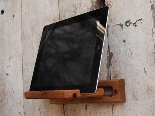 Handmade iPad Stand and Wall Mount