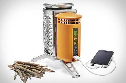 BioLite CampStove Camp Stove for Your Food and Gadgets