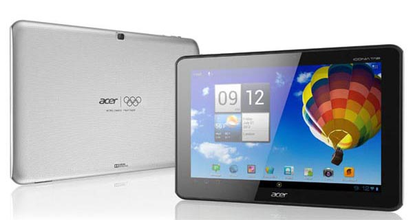 Acer Iconia Tab A510 Android Tablet Olympic Games Edition Announced