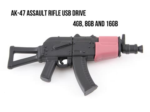 AK-47 Assault Rifle USB Flash Drive