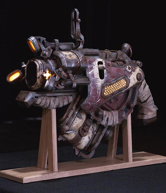 Awesome Gears of War Digger Launcher Replica