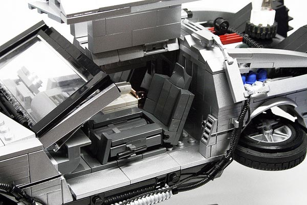 Back to the Future LEGO DeLorean