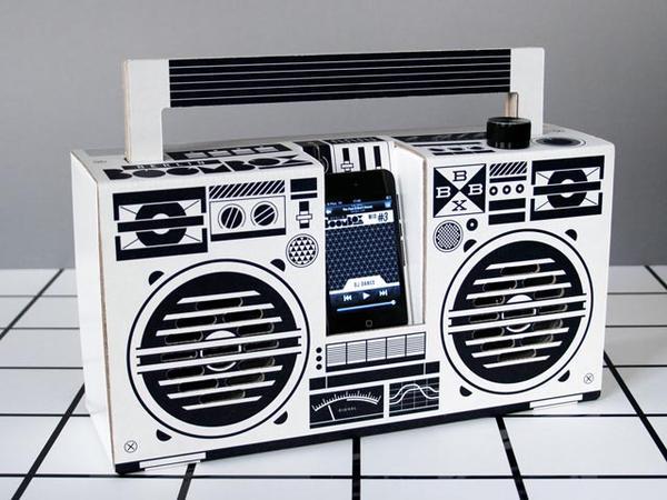 Berlin Boombox Portable Speaker