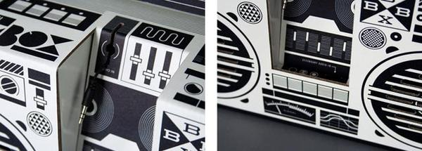 Berlin Boombox Portable Speaker
