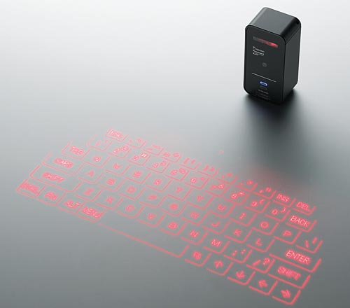 Elecom Projection Bluetooth Keyboard